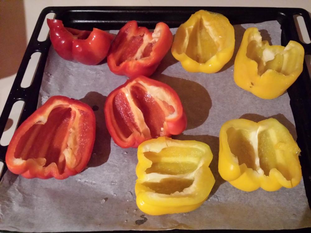 Peperoni ripieni vegetariani: noi li amiamo così! (1/6)