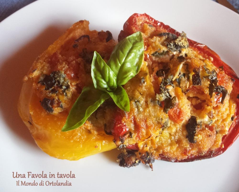 Peperoni ripieni vegetariani: noi li amiamo così! (6/6)