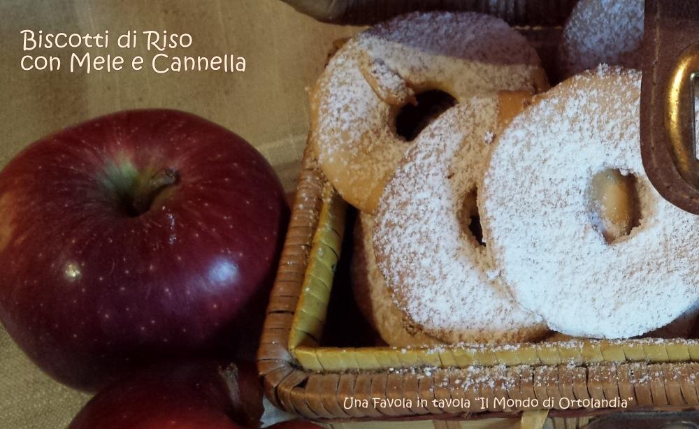 Biscotti di riso con mele e cannella: il tesoro della ciurma! (4/4)