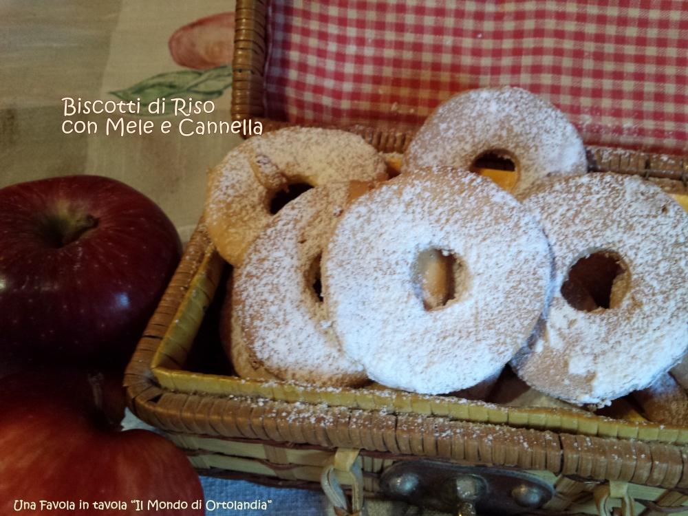 Biscotti di riso con mele e cannella: il tesoro della ciurma! (3/4)