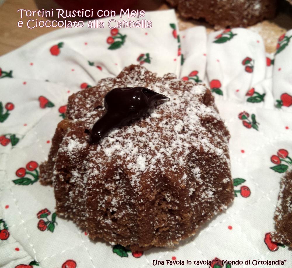 Tortini Rustici con Mele e Cioccolato alla cannella: una dolce buona notte (3/3)