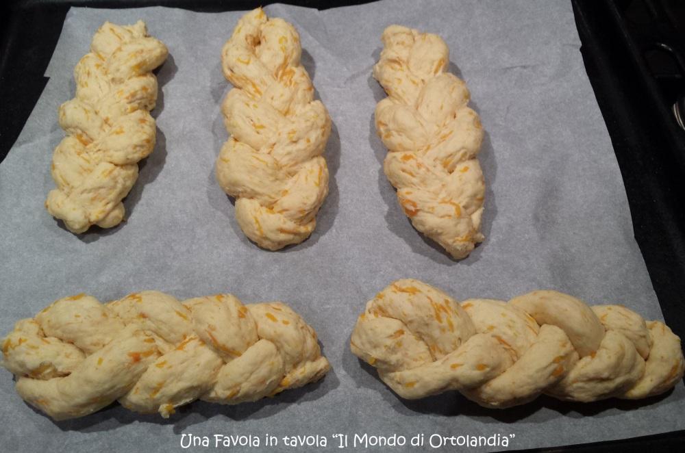 Treccine salate alla zucca: opss niente pane! (1/5)