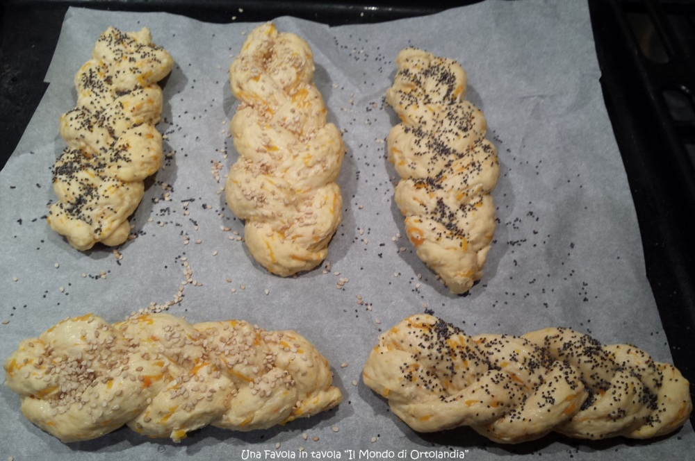 Treccine salate alla zucca: opss niente pane! (2/5)