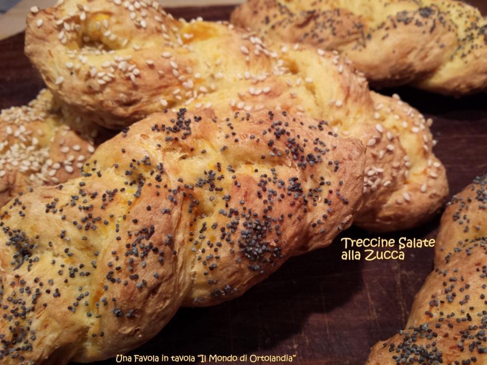 Treccine salate alla zucca: opss niente pane! (3/5)