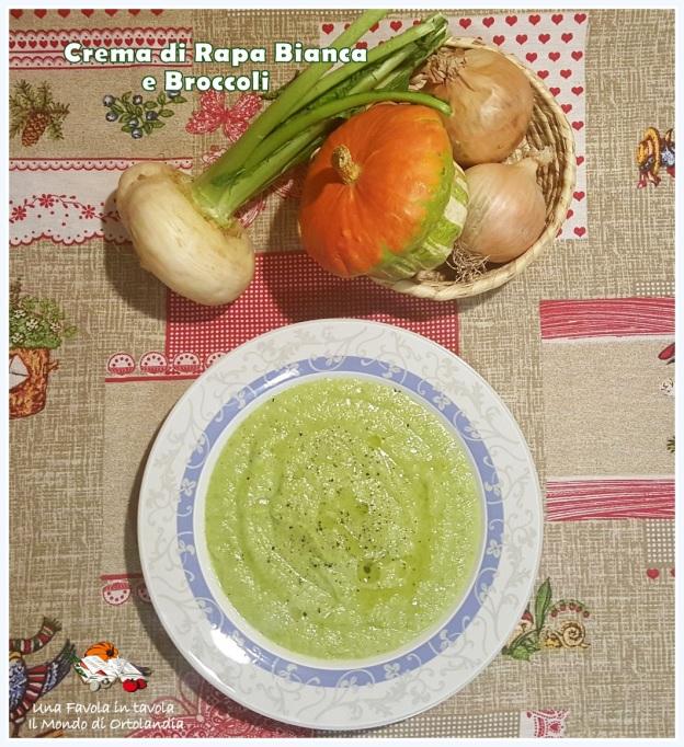 """Crema di Rapa bianca e broccoli: ben tornata """"Bellissima Mamma ..."""