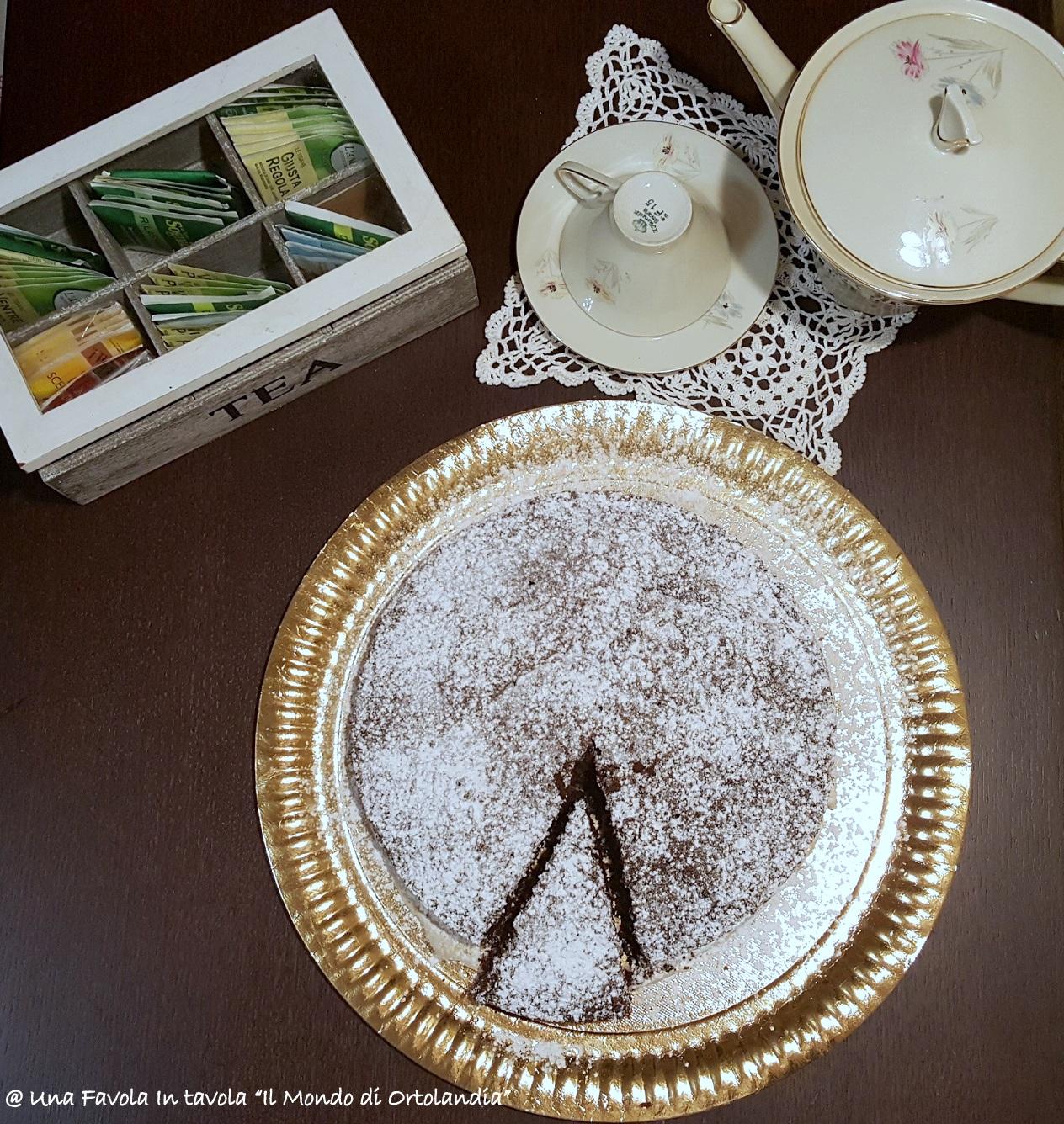 Torta al cioccolato con mandorle nocciole e cocco 2 for Aspetto rustico
