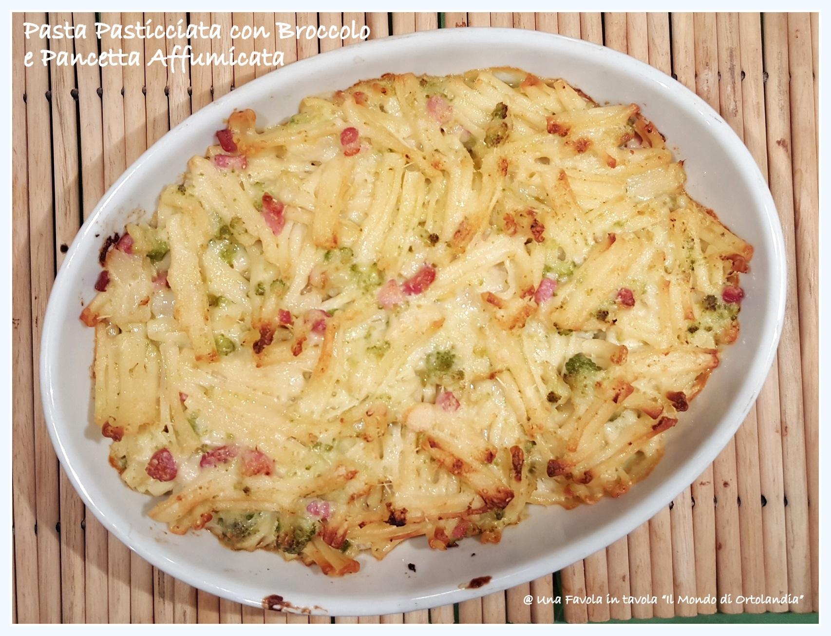 Ricetta pasta pasticciata senza carne